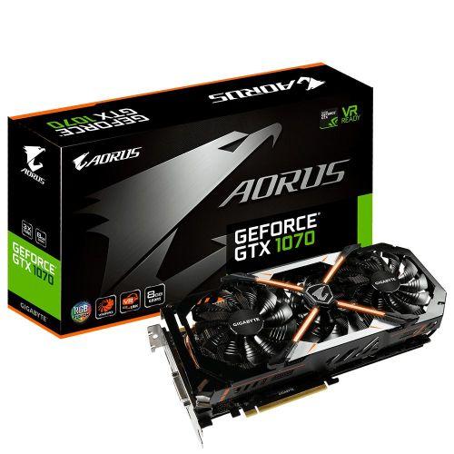 مراجعة كارت Nvidia GTX 1070 نسخة Gigabyte Aorus