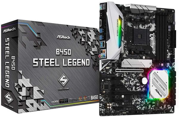 ASRock B450 Steel Legend Socket AM4