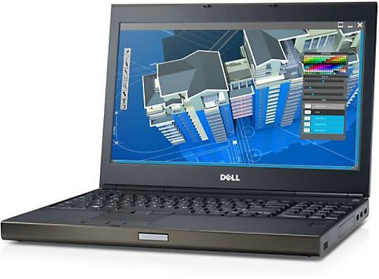 لابتوب DELL M4800 – شاشة 15.6 بدقة 2K+ 3200*1800 – معالج I7-4810MQ – كارت Nvidia K2100m