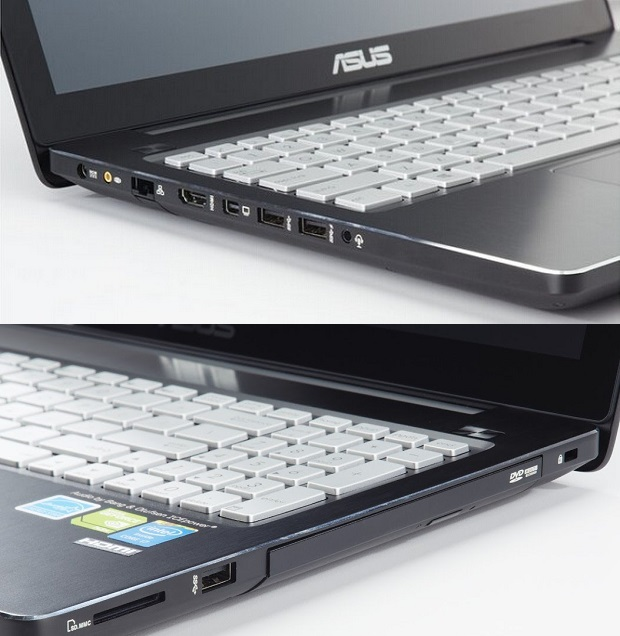 لابتوب Asus Q550lf - بشاشة تاتش 15.6 بوصة - بكارت Nvidia 2GB DDR5