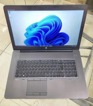 عملاق الوورك ستيشن HP ZBook 17 G3 - كارت شاشة Nvidia M3000m 4GB DDR5