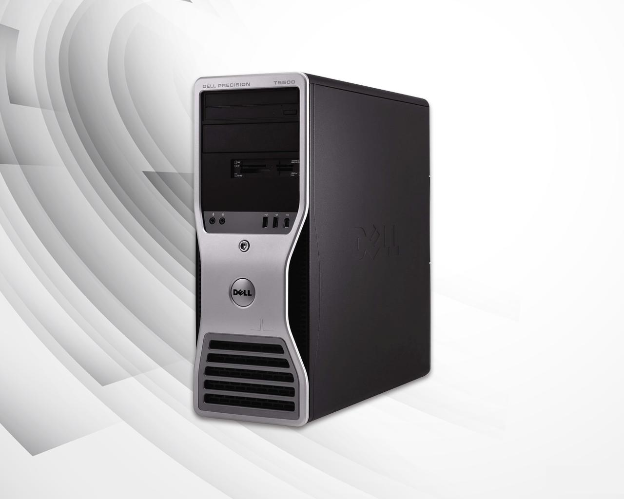 كيسة DELL T5500 وورك ستيشن بمعالج Xeon X5950 للألعاب العالية و البرامج الهندسية القوية