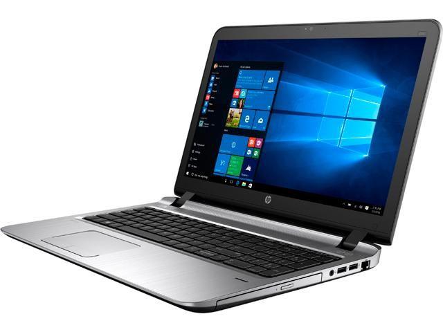لابتوب HP 455 G3 - معالج AMD A8-7410 - كارت AMD R5 - شاشة 15.6
