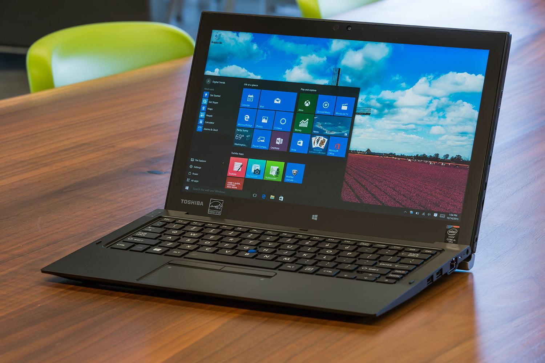 لابتوب و تابلت Toshiba Z20t-c بشاشة تاتش تنقلب و تنفصل - مع أعلى مواصفات