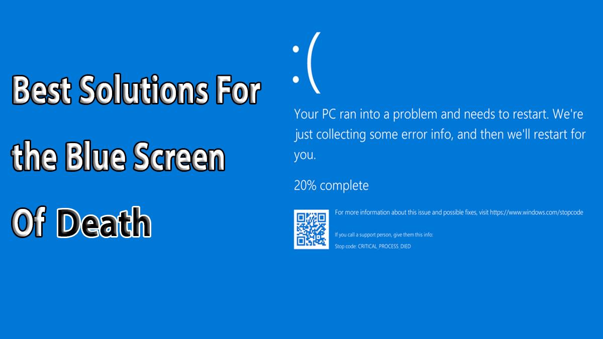 الشاشة الزرقاء في ويندوز 10 – أسبابها و طريقة حلها بأسهل الطرق