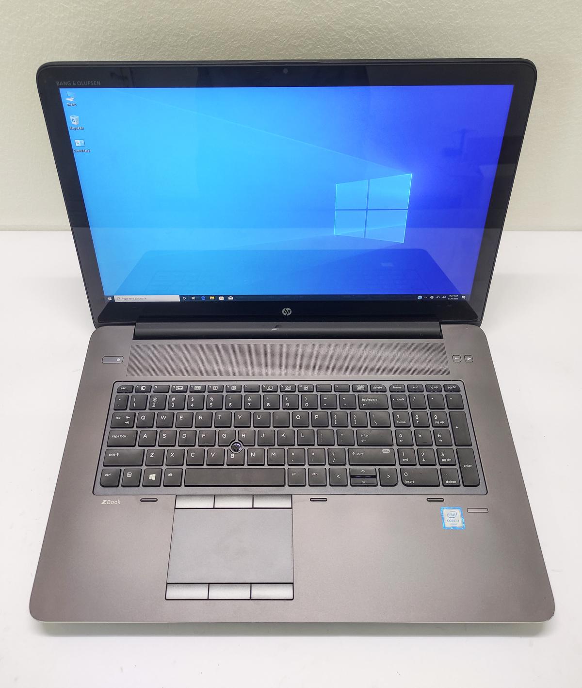 HP ZBook 17 G3 أقوى لاب توب وورك ستيشن للألعاب و الجرافيك